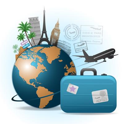 les bagages en avion