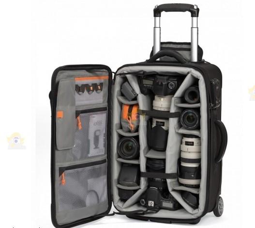 Lowepro pro roller tout pour partir for Valise makita avec tous ses accessoires