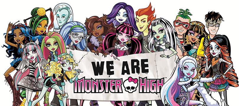 Cartables scolaires monster high tout pour partir - Personnage monster high ...